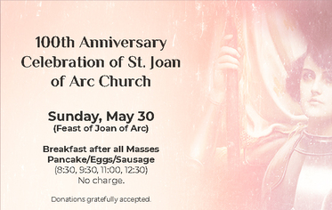 St. Joan of Arc Church in Yountvilleis celebratingits100th Year
