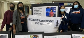 School celebrates Black History Month with exhibit dedicated to women