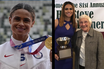 Meet the nun who cheered Sydney McLaughlin to a gold medal and new world record in Tokyo