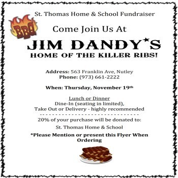 Jim Dandy's Nutley Dine-In Fundraiser