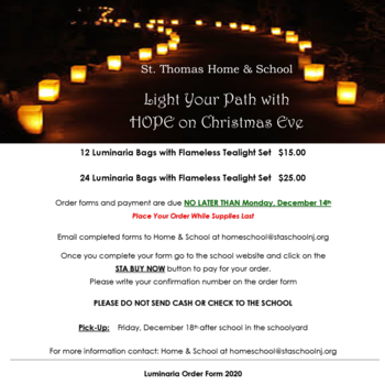 Light Your Path with HOPE on Christmas Eve