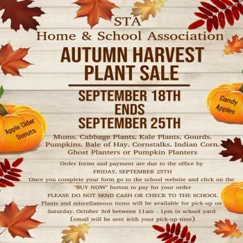 Autumn Harvest Plant Sale