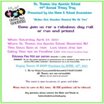 STA's 44th Annual Tricky Tray Tickets