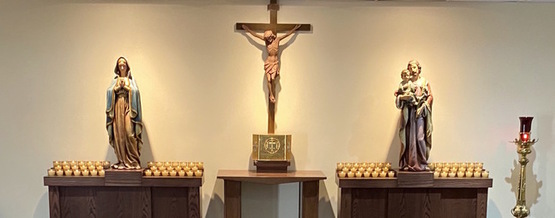 Silent Prayer & Adoration Chapel