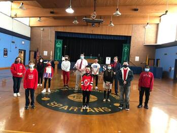 January 2021 - Student Council Induction