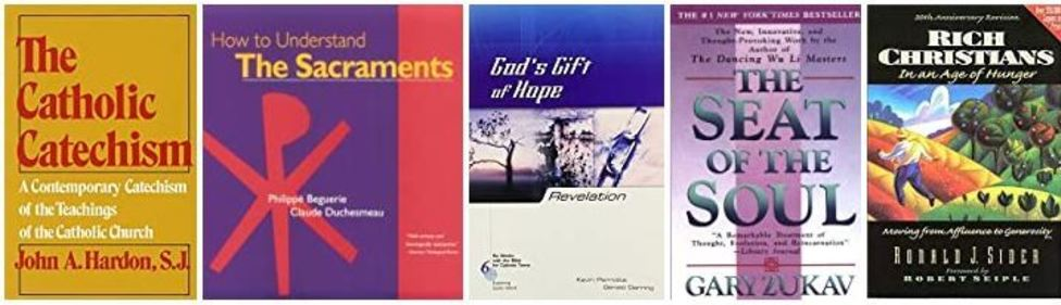 St. Gregory's Online Catalog for Our Library of Books