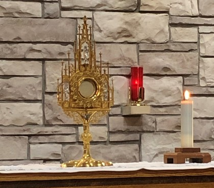 Adoration at St. Gregory's