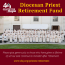 Donate to the Diocesan Priest Retirement Fund
