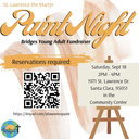 Paint Night: Bridges Young Adult Ministry Fundraiser