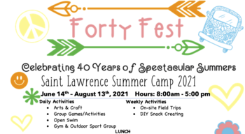 St. Lawrence Summer Camp is BACK!