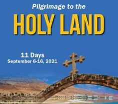 Pilgrimage to the Holy Land