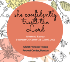 Girls Retreat: She Confidently Trusts the Lord