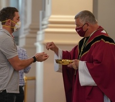 Bishop Stika re-emphasizes COVID precautions