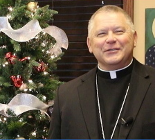 VIDEO: Bishop Stika Christmas and New Year's Message