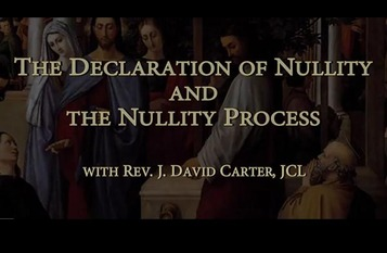 Overview of Annulment Process
