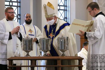 Chrism Mass to be celebrated, live-streamed March 30