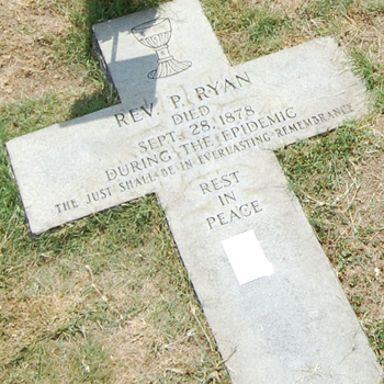 Father Ryan reentombed at Basilica of Sts. Peter and Paul  July 31