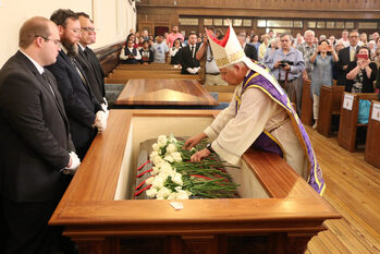 Servant of God Patrick Ryan returns to Sts. Peter and Paul