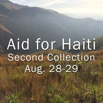 Second collection to be taken for Haiti earthquake victims