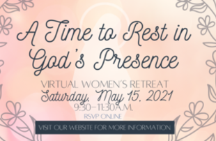 Virtual Women's Retreat: A Time to Rest in God's Presence