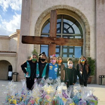 Service in Action: Girl Scout Troops support SVDP