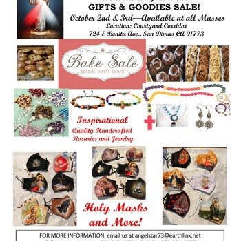 Divine Mercy Ministry Gifts and Goodies Sale