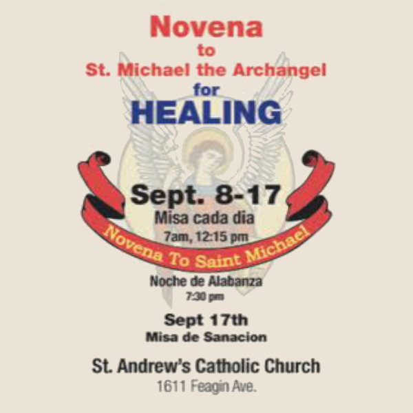 Novena to St. Michael the Archangel for Healing