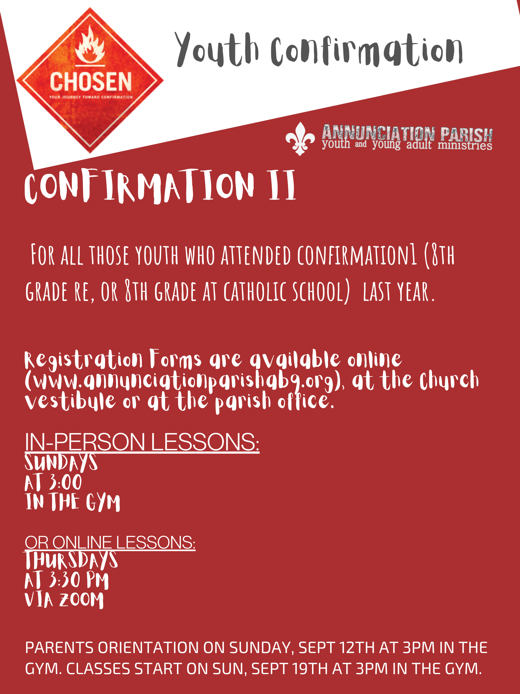 Youth Confirmation