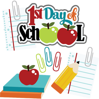First Day of School for Grades PreK-8