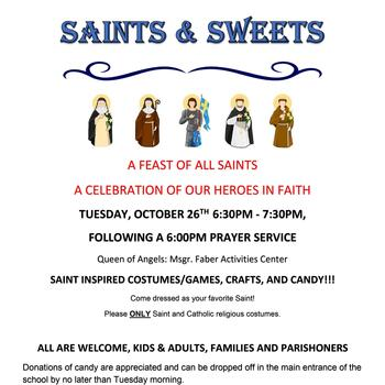 Saints and Sweets