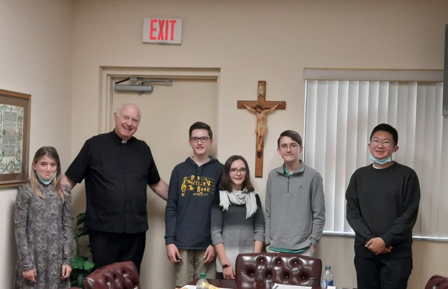 Youth lunch meeting of Sunday, Jan. 17, 2021
