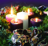 Advent by Candlelight - A One-Woman Advent Play