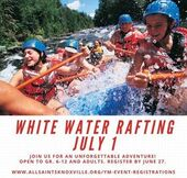 Youth Ministry White Water Rafting