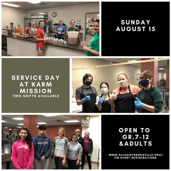 Youth Ministry Service Day at KARM Mission