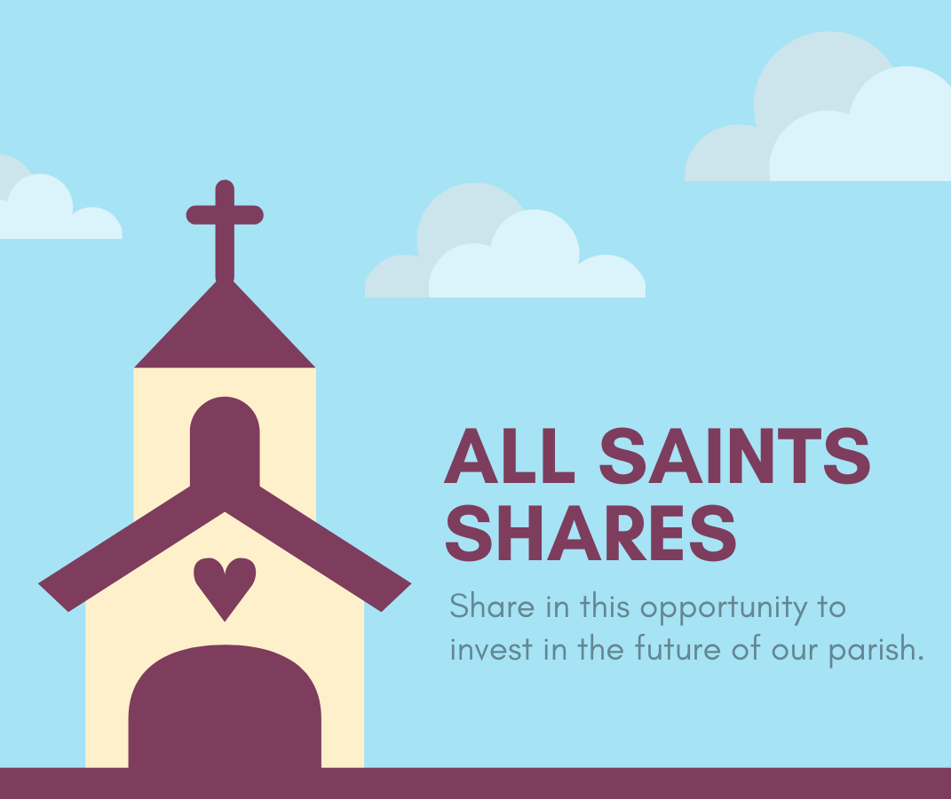 Share in this initiative to build towards our parish future.