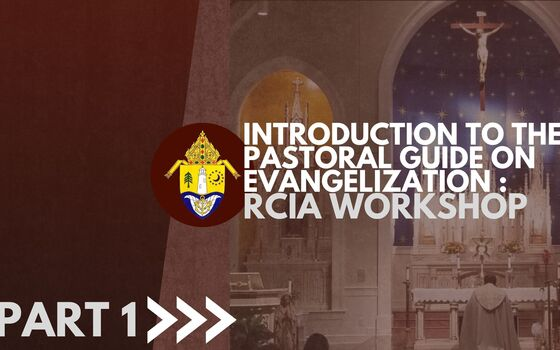 Diocese-wide RCIA Workshop Introuction