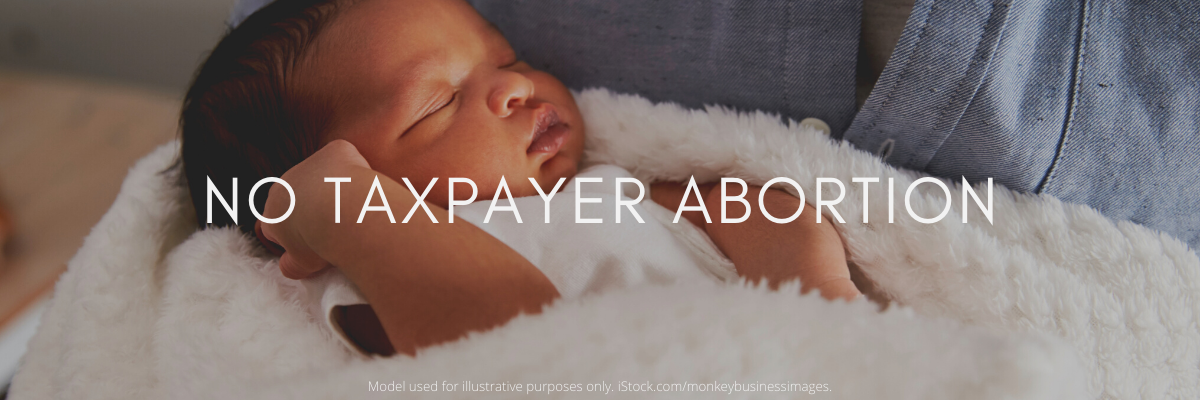 No Taxpayer Abortion