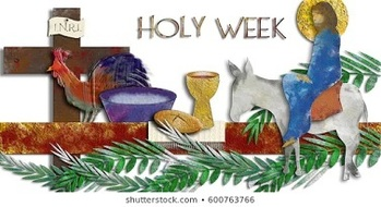 Holy Week Resources for Parishioners at Home