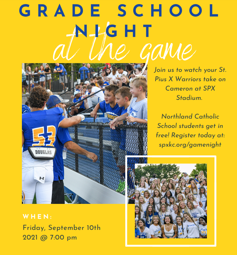 Grade School Night at the Game