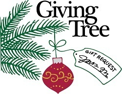Christmas Outreach Giving Tree