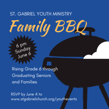 Youth Ministry Family BBQ