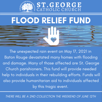 Second Collection for Flood Relief