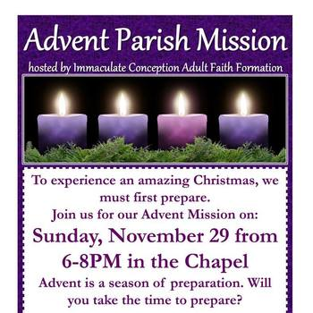 Advent Parish Mission