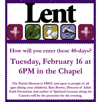 Lenten Parish Mission