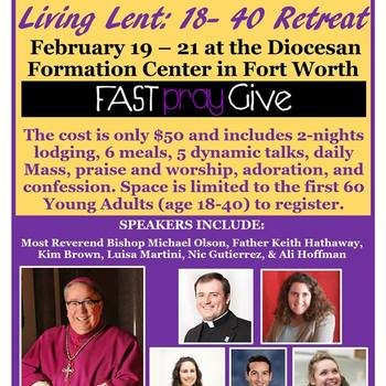 Living Lent 18-40 Retreat