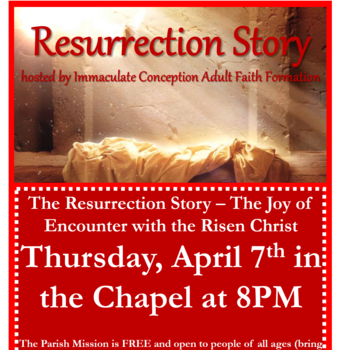 Talk on the Resurrection Story