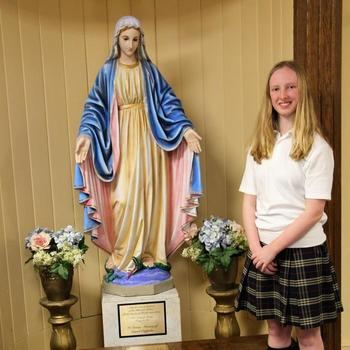Outstanding Catholic School Student of the Year