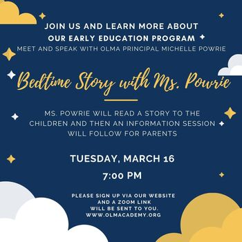 STORY TIME AND EARLY EDUCATION INFORMATION SESSION