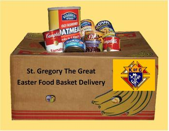 Easter Food Basket Delivery 8:00 AM
