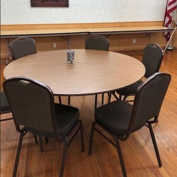 New Chairs for Parish Hall!
